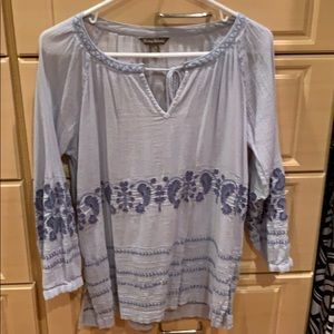 Tommy Bahama beach coverup light blue